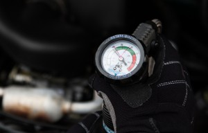 Check Pressure with A/C Pro Gauge