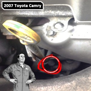 2007 Toyota Camry A/C Low Pressure Service Port