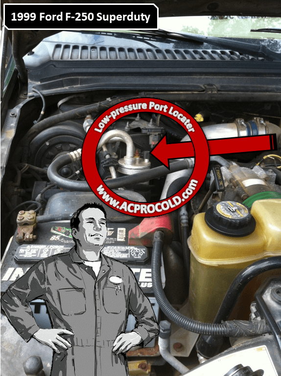 Service manual [How To Recharge 2007 Ford F250 Ac ...