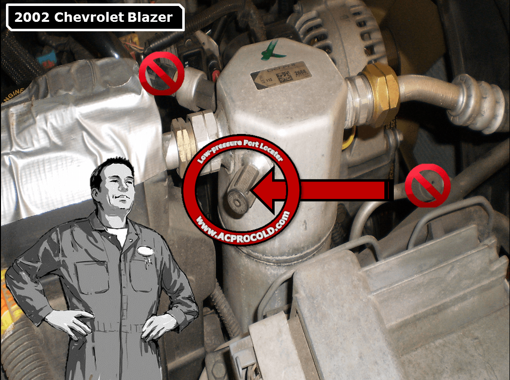Service Manual How To Put Refrigerant In A 2002 Dodge Ram
