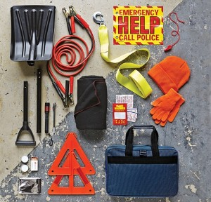 Winter Roadside Emergency Kit