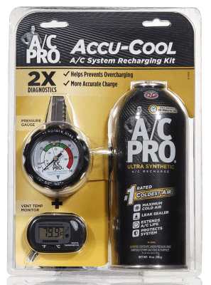 18018 | A/C Pro® Accu-Cool A/C System Recharge Kit